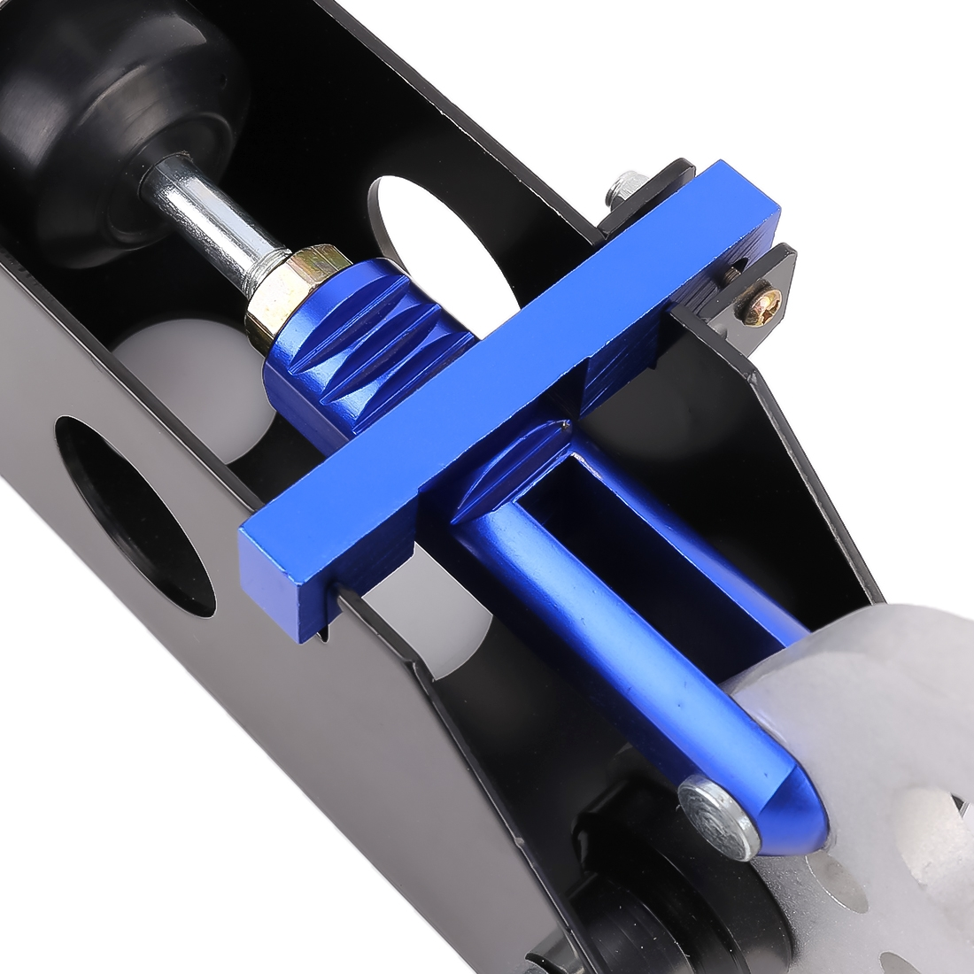 Car Modification Racing Hydraulic Drift Handbrake Short Straight Handle (Blue)