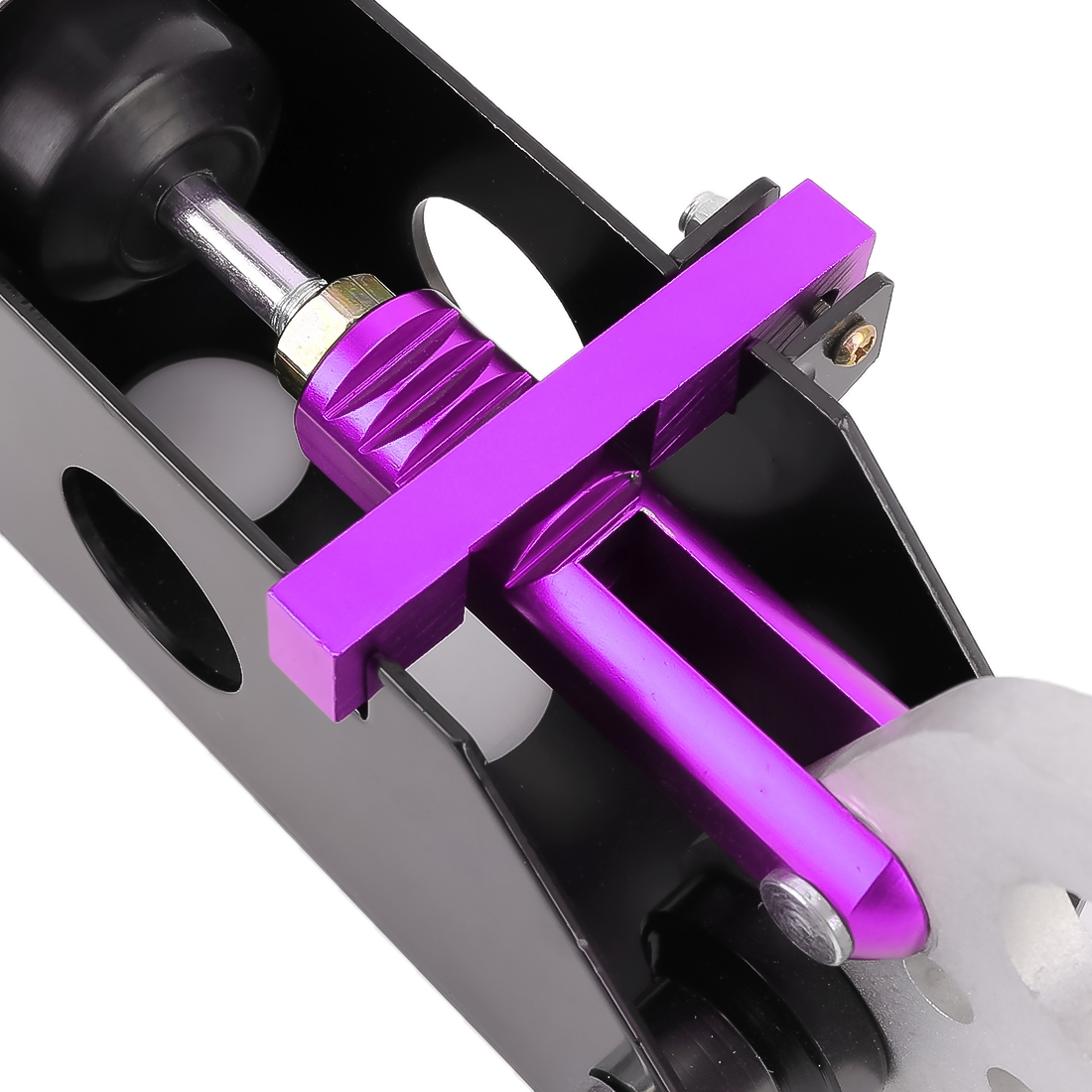 Car Modification Racing Hydraulic Drift Handbrake Short Straight Handle (Purple)