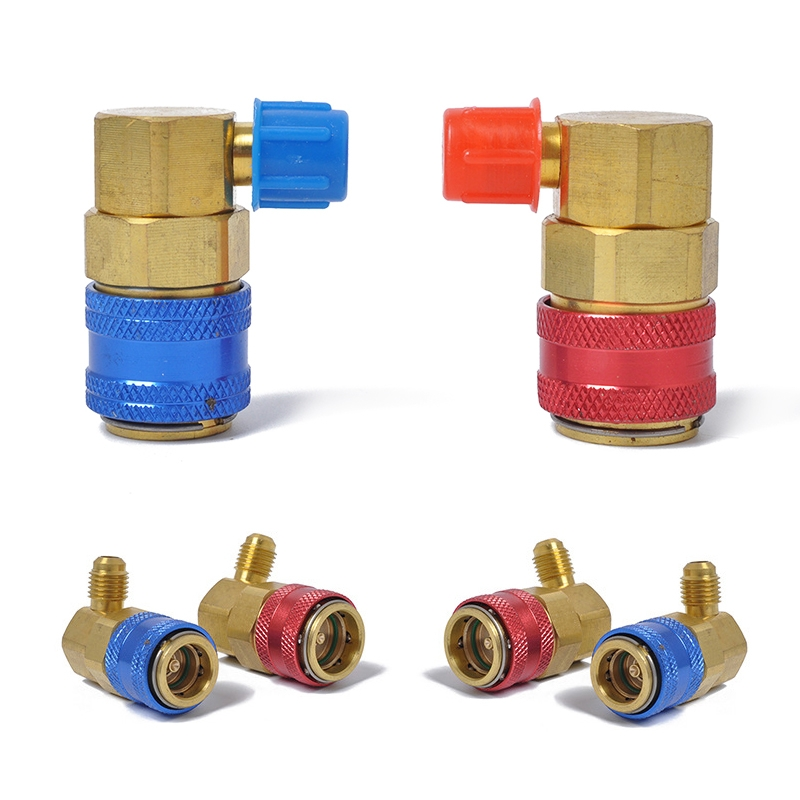 Car Air Conditioning Fluorine 90 Degree Quick Joints