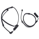 2 PCS Car Front Rear Brake Pad Sensor Cable 34351165579 34351165580 for BMW X5 E53 2000-2006