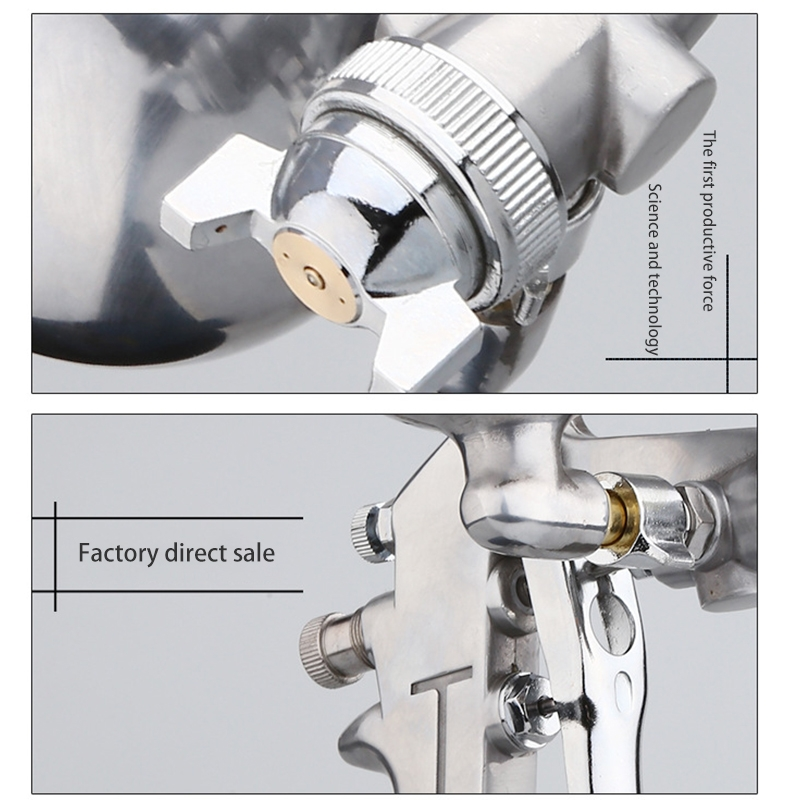 F-75G Aluminum Alloy Spray Gun Spray Tool Pneumatic Paint Spray Gun