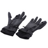 Outdoor Sports Wind-stopper Full Finger Winter Warm Photography Gloves, L