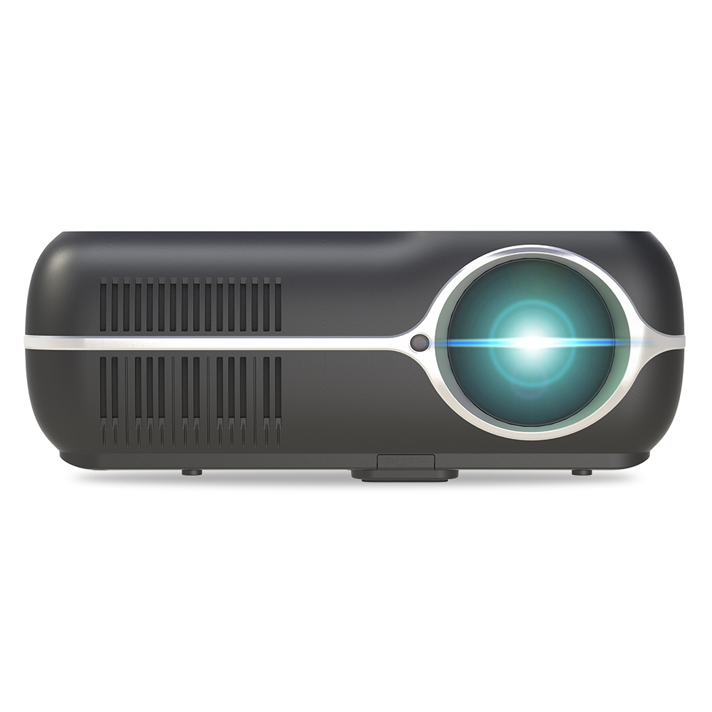 DH-A10 5 8 inch LCD Screen 4200 Lumens 1280x800P HD Smart Projector with  Remote Control, Android 6 0 OS, Support WiFi, Bluetooth, HDMIx2, USBx2,  VGA,