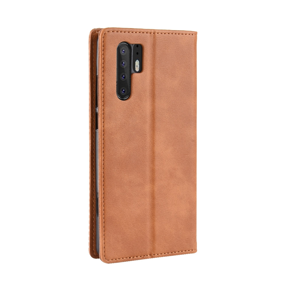 Magnetic Buckle Retro Texture Horizontal Flip Leather Case for Huawei P30  Pro 7f54e4f969a