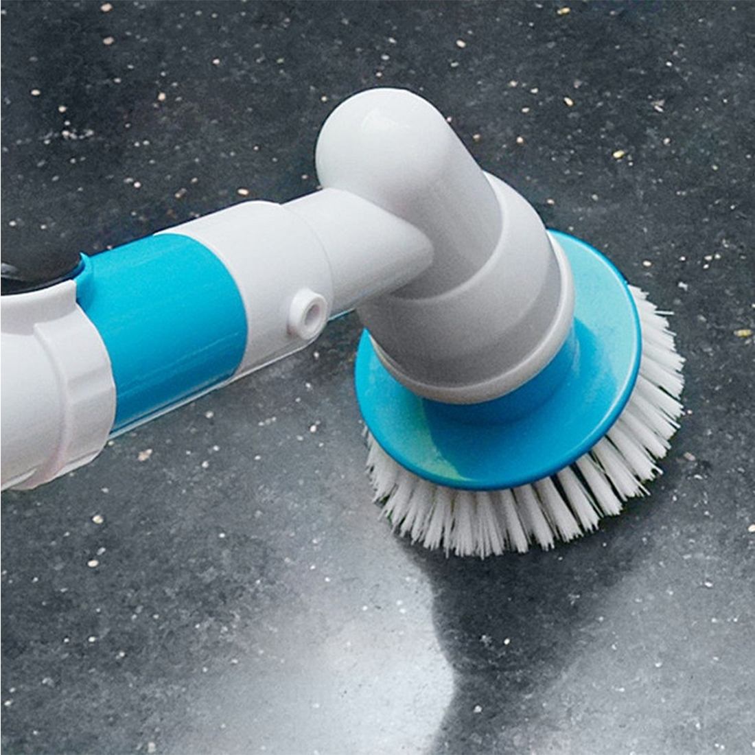 Multi-function Tub and Tile Scrubber Cordless Power Spin Scrubber Power Cleaning Brush Set for Bathroom Floor Wall, UK Plug