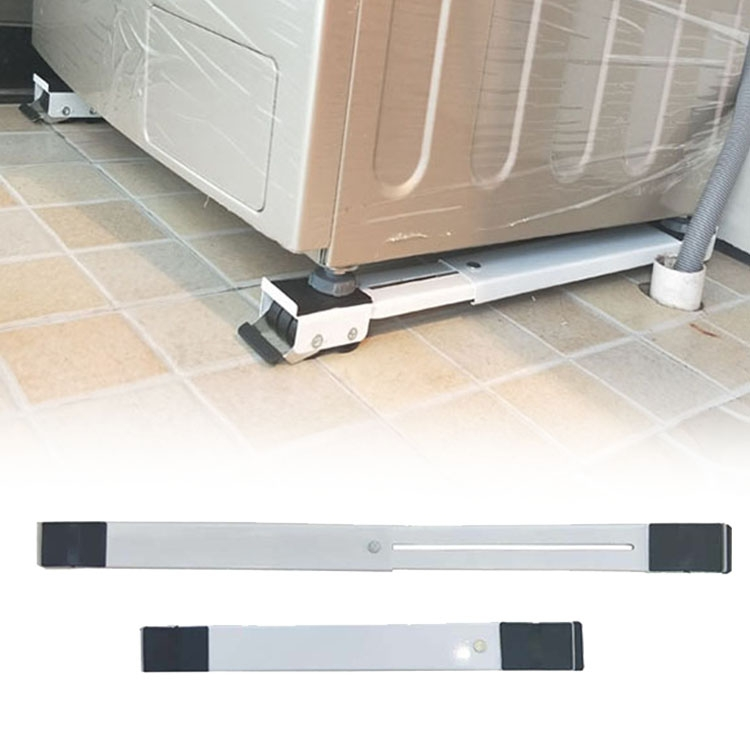Adjustable Washing Machine Refrigerator Base Stand Bracket Fridge Washing Machine Trolley Bracket Mount