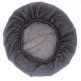 Coconut Nightcap Air Conditioning Cap Long Hair Cap Wide Band Satin Bonnet (Grey)