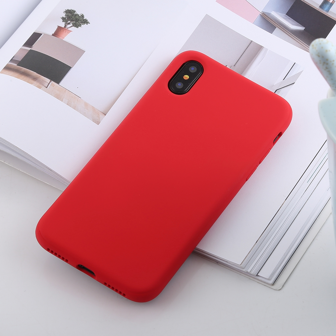 iphone xs max case red shockproof