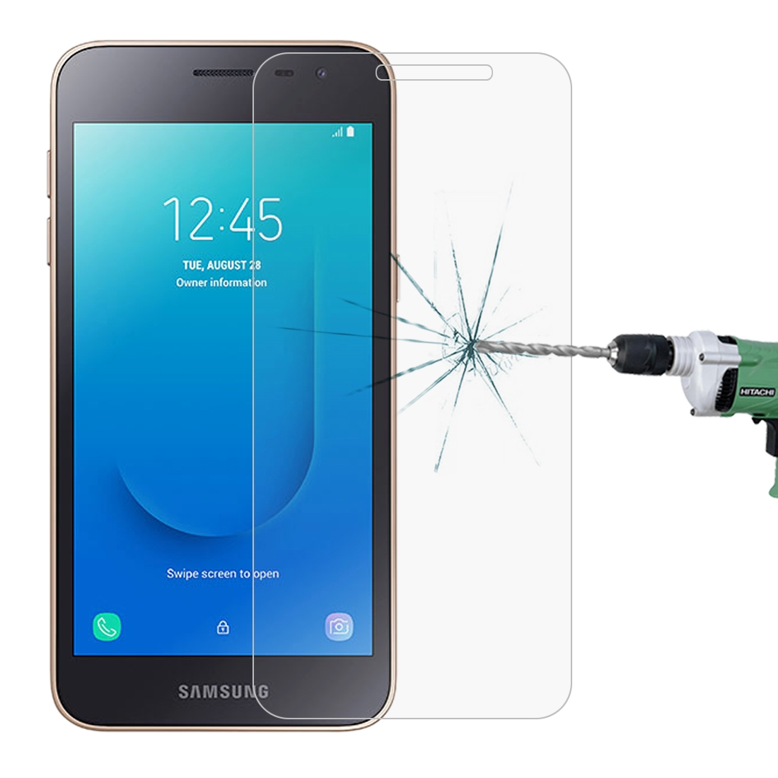 Screen Protector Protective 100 PCS for Galaxy A5 0.26mm 9H Surface Hardness 2.5D Explosion-Proof Tempered Glass Screen Film Glass Film