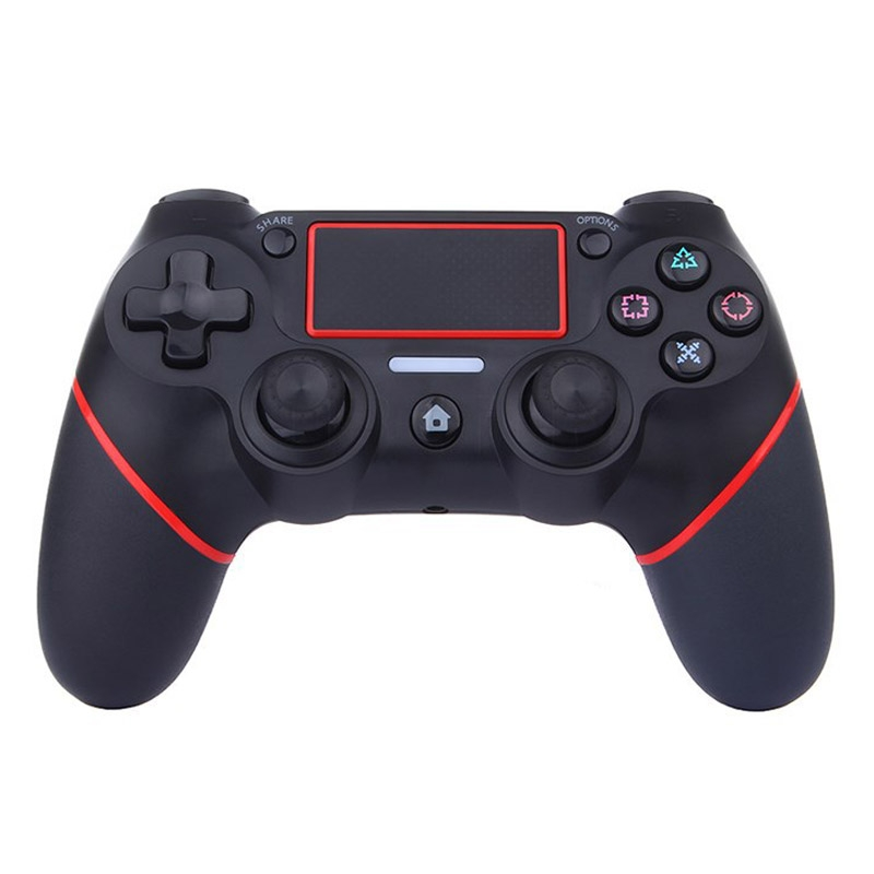 Wireless Game Controller for Sony PS4 (Red)