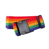 Cross Rainbow Elastic Telescopic Bag Bungee Luggage Packing Belt Travel Luggage Fixed Strap (Colour)