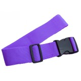 Cross Rainbow Elastic Telescopic Bag Bungee Luggage Packing Belt Travel Luggage Fixed Strap (Purple)