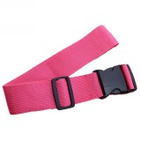 Cross Rainbow Elastic Telescopic Bag Bungee Luggage Packing Belt Travel Luggage Fixed Strap (Rose Red)