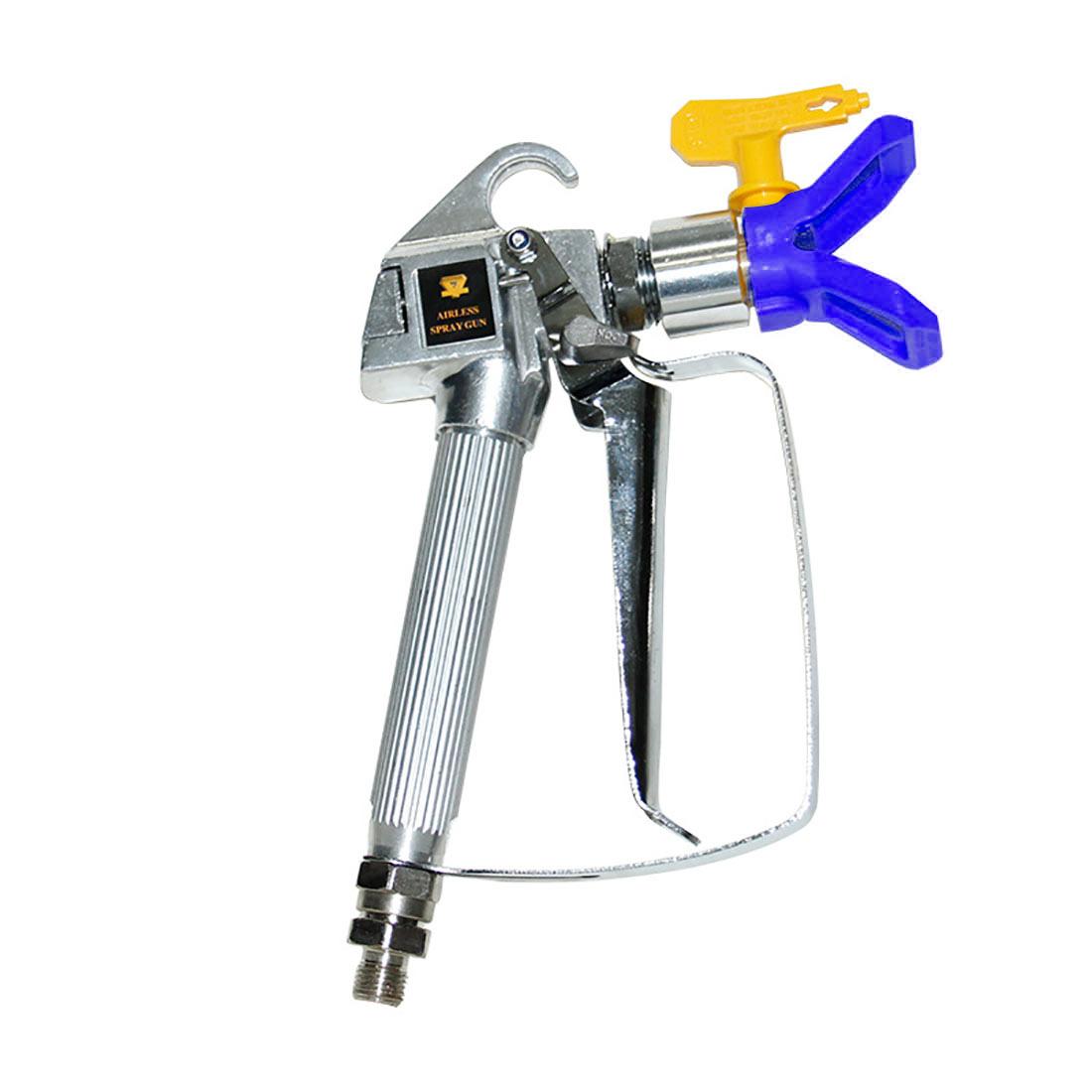 High Pressure Airless Sprayer Spray Gun & Nozzle Holder & Nozzle Set, Paint  Sprayer Sprayer Accessories (Blue)