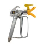 High Pressure Airless Sprayer Spray Gun & Nozzle Holder & Nozzle Set, Paint Sprayer Sprayer Accessories (Yellow)