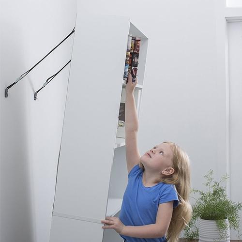 2 PCS Anti-tilt Fixed Band LCTV Furniture Fixing Strap Child Safety Equipment