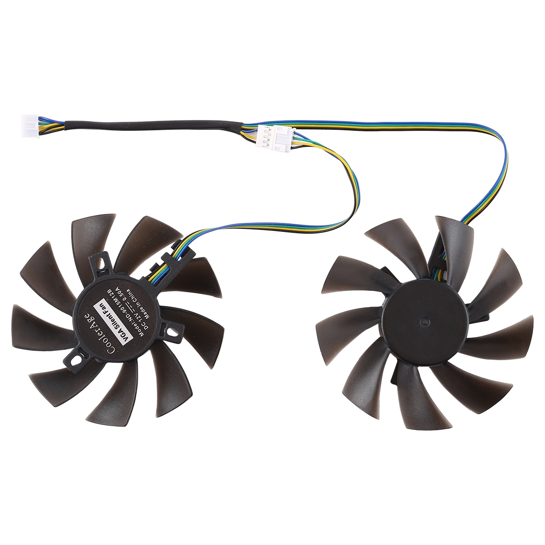 Strange Dc 12V 0 5A 4 Pin Female Desktop Computer Radiator Cooling Fan Cpu Cooling Fan Diameter 8 5Mm Pairs Beutiful Home Inspiration Aditmahrainfo
