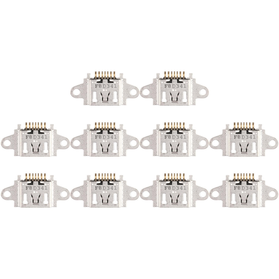10 PCS Charging Port Connector for OPPO R7 / R7 Plus / A83 / A73 / A79 / A77