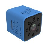 SQ23 Ultra-Mini DV Pocket WiFi 1080P 30fps Digital Video Recorder 2.0MP Camera Camcorder with 30m Waterproof Case, Support IR Night Vision (Blue)