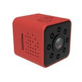 SQ23 Ultra-Mini DV Pocket WiFi 1080P 30fps Digital Video Recorder 2.0MP Camera Camcorder with 30m Waterproof Case, Support IR Night Vision (Red)