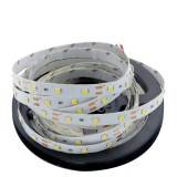 YWXLight UK Plug LED Strip Lamp 300led 5M 2835 SMD Red, Green, Warm white NO-Waterproof IP20 (Warm White)