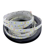 YWXLight Dimmable Light Strip Kit, 5m LED Ribbon, Non-Waterproof For Indoor, 11key Remote Control LED Strip Lamp 300led EU Plug (Cold White)