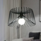 YWXLight Nordic Modern Hanging Lamp Creative Iron Art Simple Spider Pendant Light E27 Bulb Perfect for Kitchen Dining Room Bedroom Living Room (Warm White)