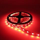 YWXLight Dimmable Light Strip Kit US Plug No Waterproof Led Strip Lights SMD 5050 16.4 Ft (5M) 300LEDs (Red)