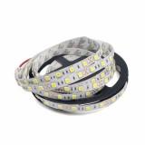 YWXLight Dimmable Light Strip Kit US No Waterproof Led Strip Lights SMD 5050 16.4 Ft 300LEDs 60leds/m (Warm White)