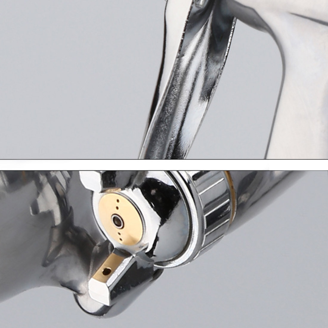 F-3 Aluminum Spray Gun Gravity Spray Gun Small Pneumatic Paint Spray Gun