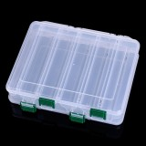 HENGJIA qt081-3 Five Grid Double-Sided Sub-box Tool Box Double Layer Multi-function Storage Box Fishing Tackle Box
