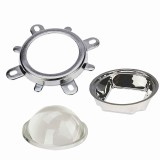 44MM Optical Magnifier 60 degrees/120 degrees High Power LED 20-100W Lamp Lens Plano-convex Lens