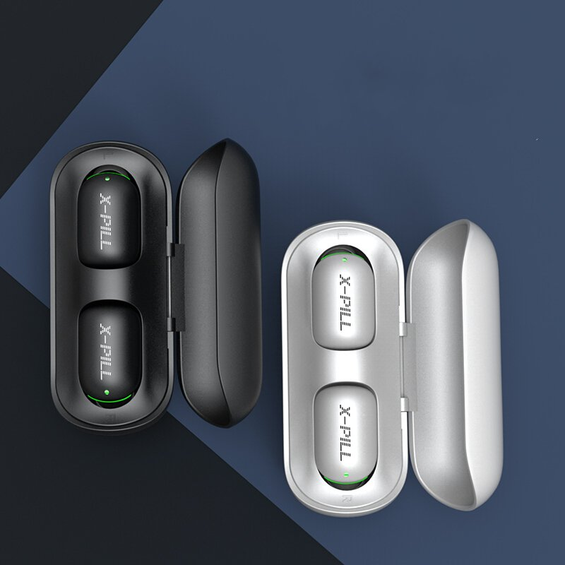 Bakeey A2 TWS True Wireless Bluetooth Earphone Mini Portable Smart Touch Auto Pairing IPX5 Waterproof Headphone with Mic