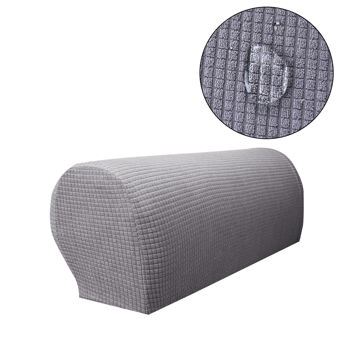 Sofa Armrest Covers Stretch Fabric Arm Protectors Chair
