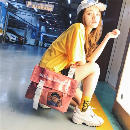 Men And Women Jelly Hip-Hop Crossbody Bag Cover Shoulder Bag
