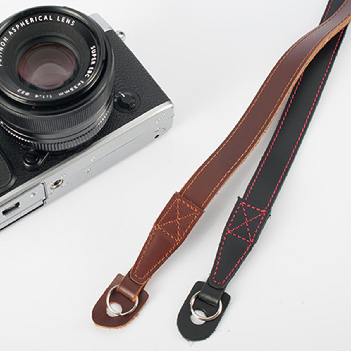 Color : Dark Red Stripe Style Series Shoulder Neck Strap Camera Strap for SLR//DSLR Cameras Dark Red Strap