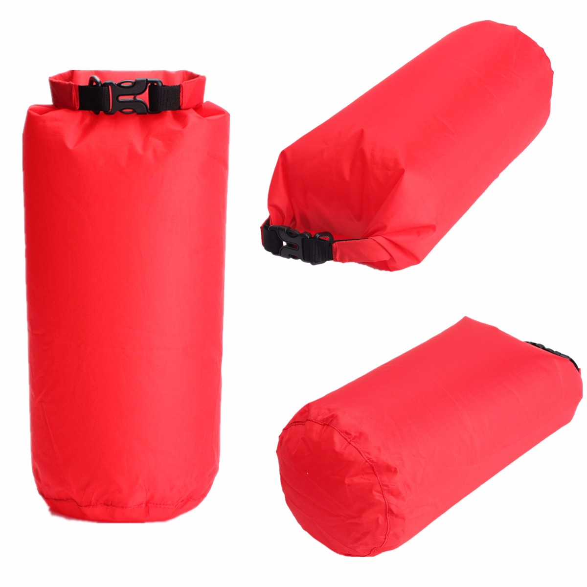 Outdoor Waterproof Dry Sack Storage Bag Rafting Sports Kayaking Canoeing Swimming Bag Travel Kits 8L