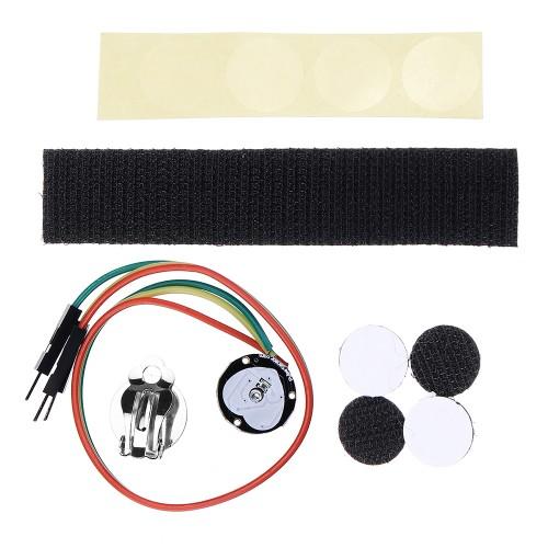 Pulse Heart Rate Sensor Module Compatible STM32 Heartbeat Sensor For Arduino