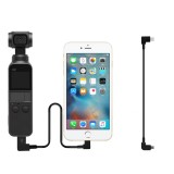 OSMO POCKET Gimbal Typc C to Micro USB Adapter Cable 30cm Wire Convertor for DJI OSMO POCKET Android Accessories