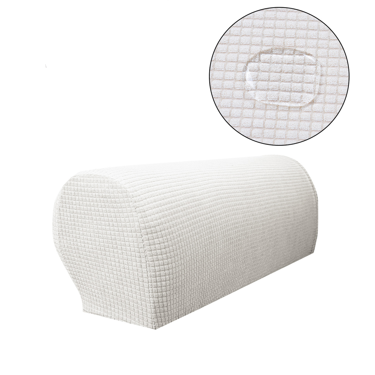 New Slipcover Stretch Sofa Cover Sofa With Loveseat Chair: Sofa Armrest Covers Stretch Fabric Arm Protectors Chair