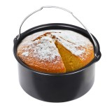 Cake Pan Bread Baking Basket For Hot Air Fryer 1.6L Hot Air Fryer Hot Air Oven Accessories