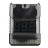 G.T.Power Battery Voltage Meter Tester Low Voltage Alarm Buzzer for 1~8S Lipo Battery