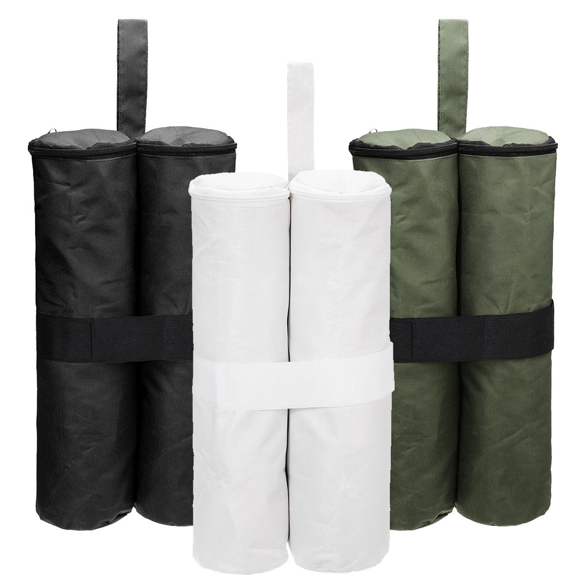 Outdoor Camping Tent Sunshade Canopy 4 Leg Weight Sand Bag Gazebo 600D Oxford Windproof Fixing Sandbag