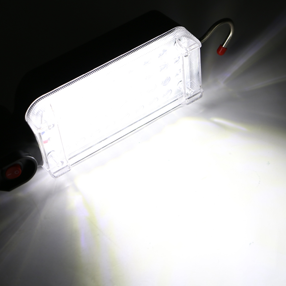 Portable 34 LED Flashlight Magnetic Torch USB Rechargeable Work Light Hanging Hook Tent Lamp Lantern For Camping Emergency