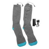 Outdoor Sports Bike Skiing Socks Rechargeable Battery Electric Heated Socks Winter Boot Feet Warmer