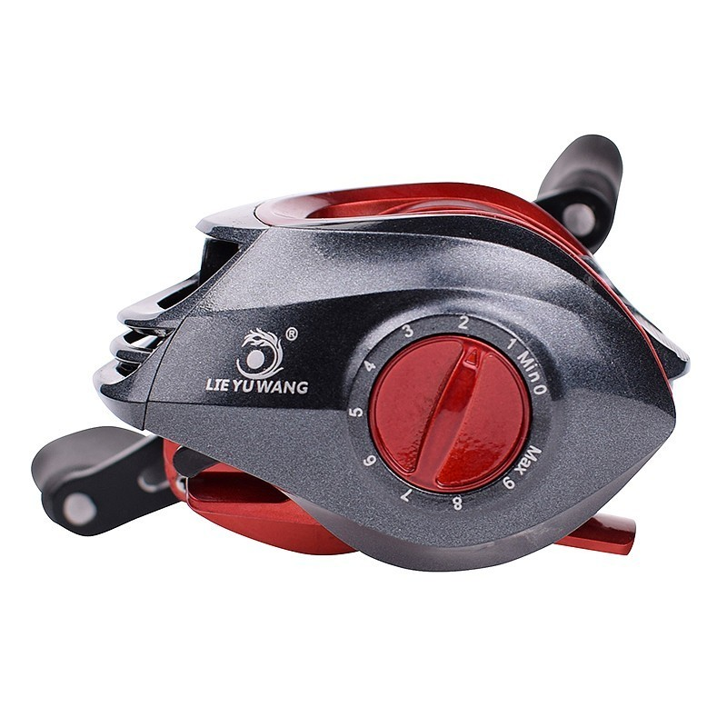 ZANLURE LF300 7.2:1 High Ratio Fishing Reel Left Right Hand 5.5kg Drag Saltwater Baitcasting Wheel