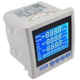 JY194E 3P Three-phase Multifunction Energy Meter Current Voltage 480V 55Hz LCD Display Energy Meter