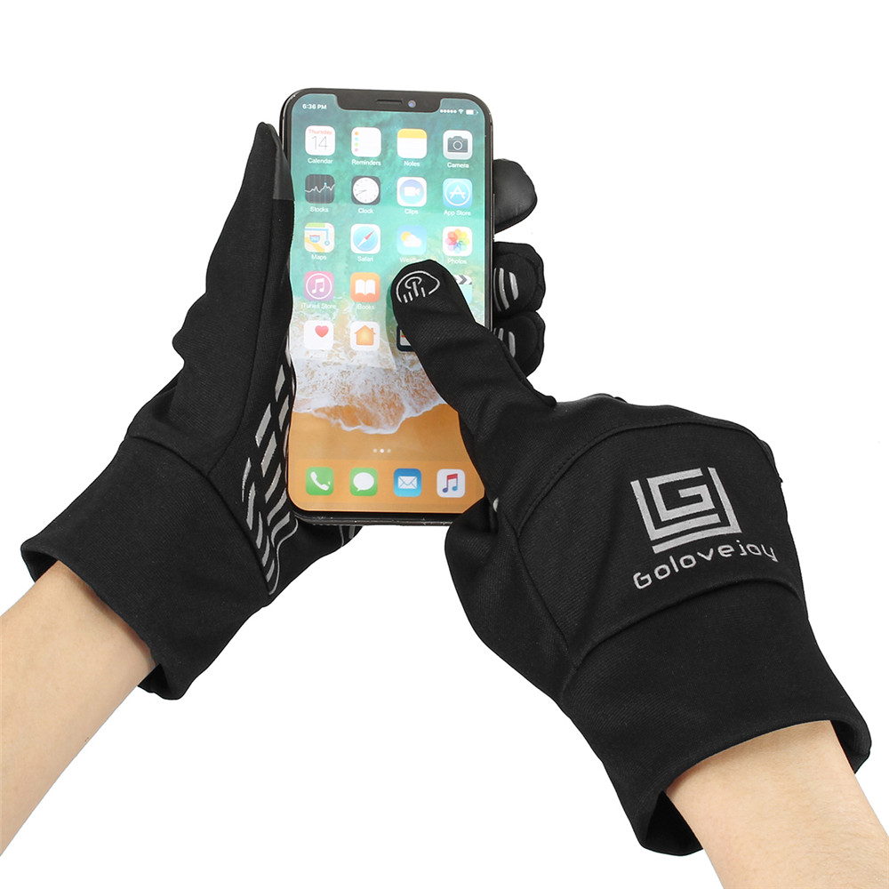 Waterproof Winter Outdoor Cycling Warm Motorcycle Riding Skiing Touch Screen Full Finger Gloves