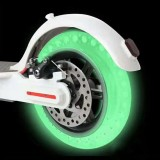 BIKIGHT 8.5inch Scooter Tire Fluorescent Shock Absorption Solid Wheels iaomi M365 Electric Scooter