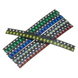300Pcs 5 Colors 60 Each 1206 LED Diode Assortment SMD LED Diode Kit Green/RED/White/Blue/Yellow